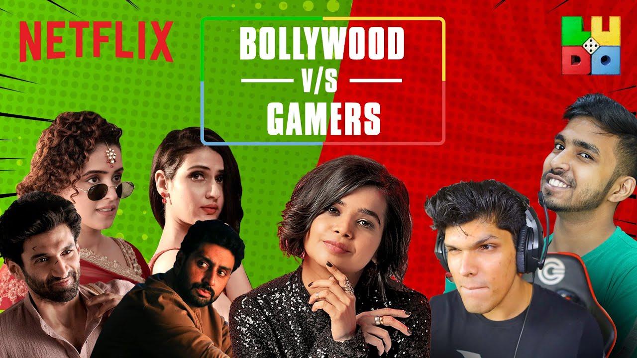 Download @Mythpat @Techno Gamerz play ULTIMATE LUDO ft. Bollywood Stars | @Suhani Shah | Netflix India