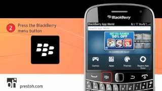 How to Scan a QR Code on a BlackBerry
