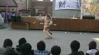 "swinging staff and poi! music : SHAKIRA ""Eyes Like Yours"""