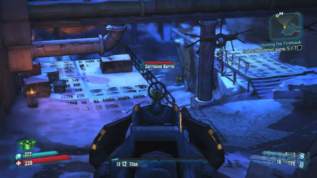 Borderlands 2 Walkthrough - Hunting the Firehawk - Main ... Borderlands 2 Walkthrough
