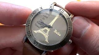 Женские наручные часы в посылке из Китая(, 2014-05-06T13:50:24.000Z)