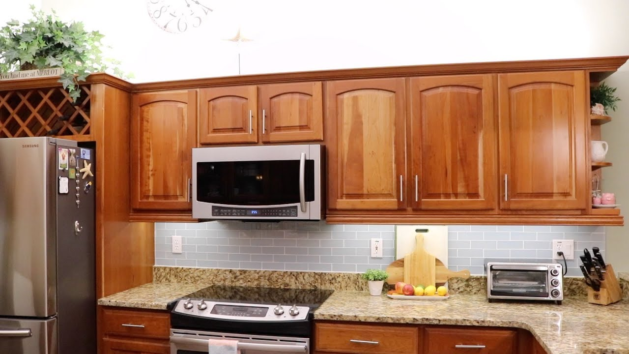 How To Install Under Cabinet Led Strip Lights Youtube