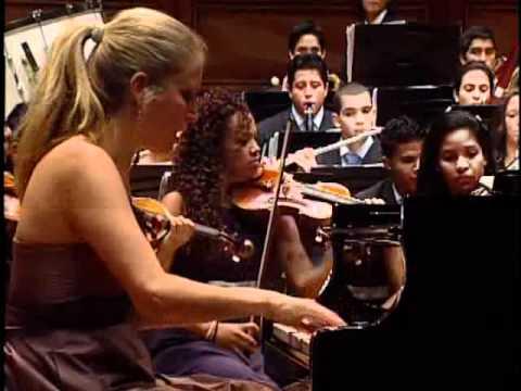 Gabriela Martinez, Christian Vasquez, Rachmaninoff Piano concerto No 2, 3rd Mov