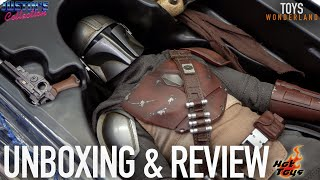 Hot Toys Mandalorian Star Wars Unboxing & Review