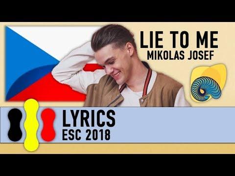 Lie to me - Mikolas Josef (Lyrics)
