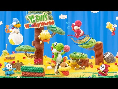 Yoshi's Woolly World - World 1 (Part 1)