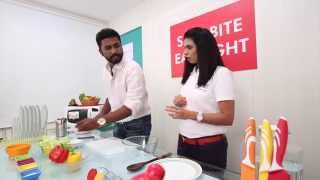 Chicken Salad with Mango Chilli Dressing by Avanti Deshpande - Dr. Abhijit More