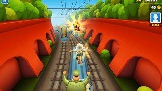 طريقة تشغيل لعبة subway surfers على الكيبورد