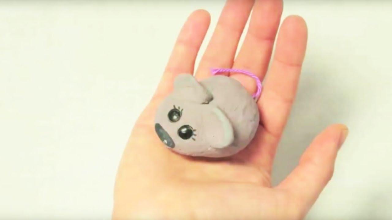 fabriquer une souris en pate a sel