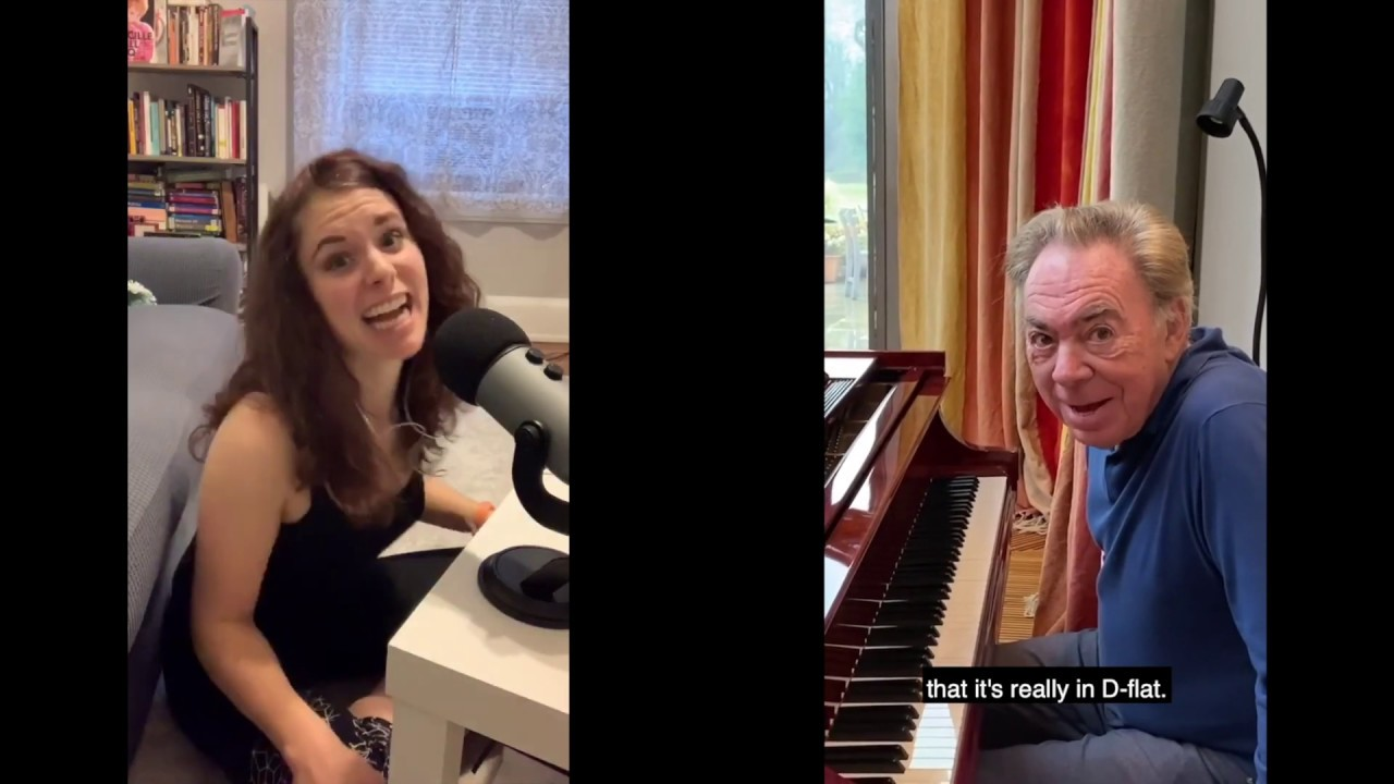 Response to Andrew Lloyd Webber Playing on IGTV