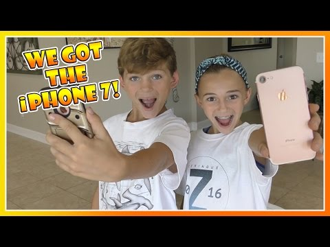 Thumbnail: KAYLA AND TYLER GOT THE iPHONE 7! | WHAT ACCESSORIES DID THEY GET? | We Are The Davises