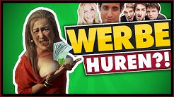 WERBE HUREN!: Geldgeile Youtuber? Werbung auf Youtube - Wie man Geld verdient