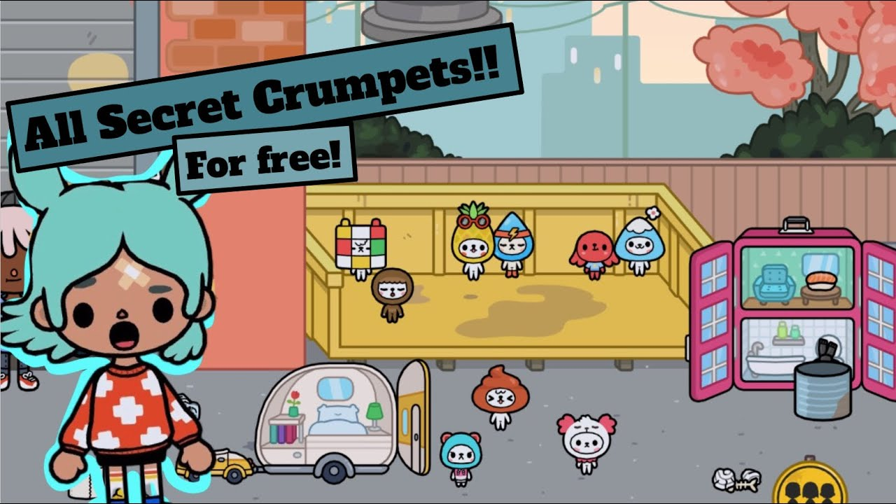 Download Toca Life World | How to get ALL the Secret Crumpets for FREE!!