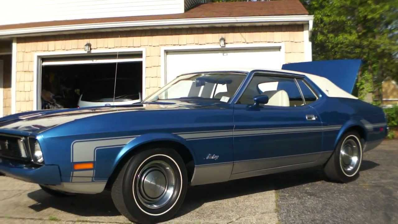 Review Of 1973 Mustang Coupe 985 Original Miles Fully