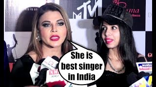 dhinckak pooja funny interview with rakhi sawant at bcl 3 goa killers team launch