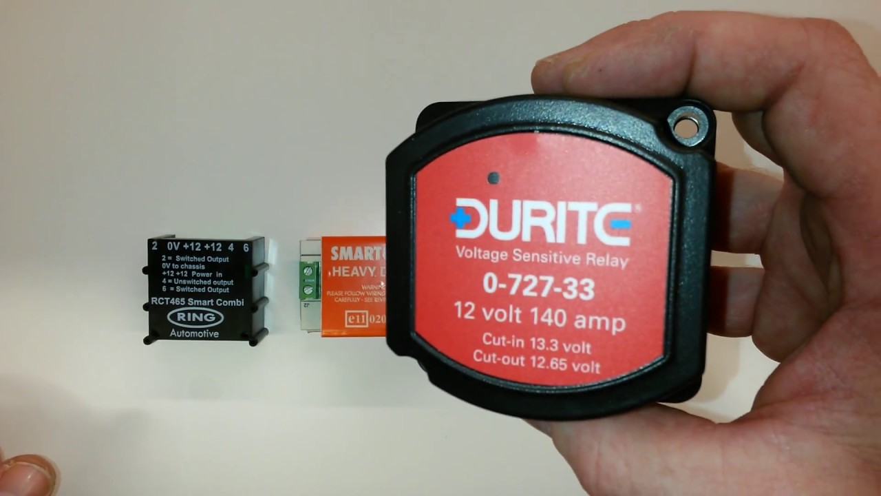 smartcom relay wiring diagram chevy stereo split relays chargers that are on the market for your campervan motorhome conversion