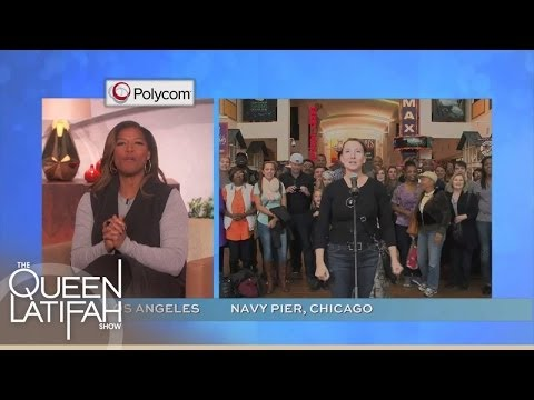 Q-Cam Never-Before-Seen Moments!   The Queen Latifah Show