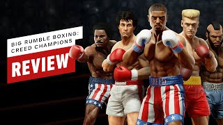 Big Rumble Boxing: Creed Champions Review (Video Game Video Review)