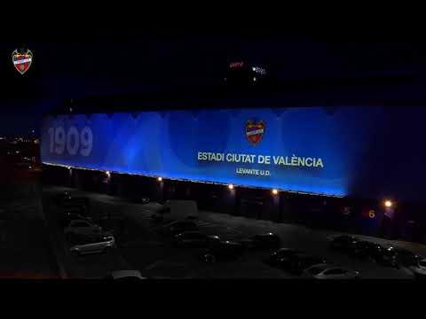 Nueva Iluminación del Estadio Ciutat de València