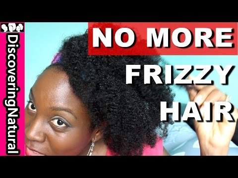 How To Get Rid of Frizzy Hair | Natural Hair | Frizz Fighting Products