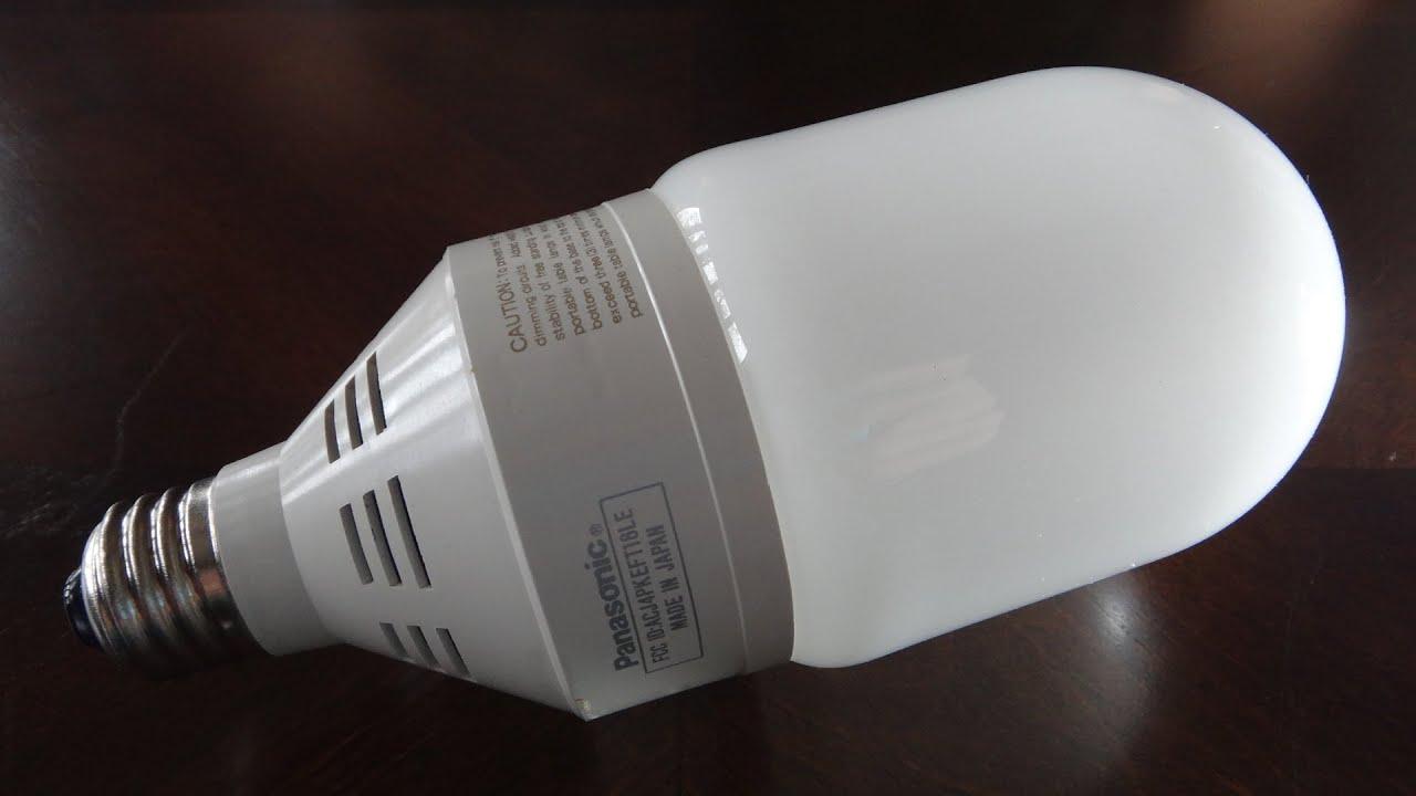 Panasonic Capsule watt CFL light bulb