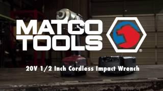 Matco Tools - 20V 1/2 inch Cordless Impact Wrench