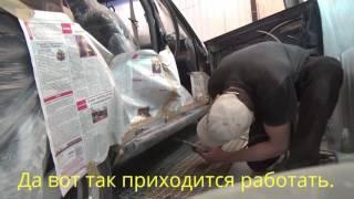видео Seat: особенности ремонта порогов