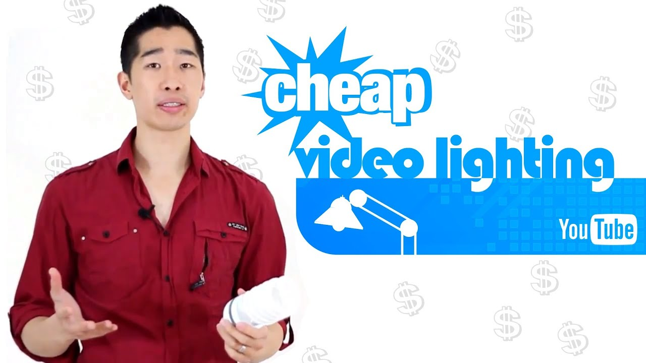 Cheap Video Lighting That Creates Amazing Youtube Videos