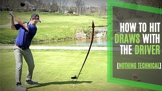 How to Hit a Draw with the Driver | Simple Process and Not Technical