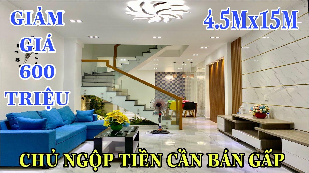 Bán nhà Gò Vấp 520| Chủ nhà ngộp tiền cần bán gấp siêu phẩm nhà phố hiện đại tuyệt đẹp tại Cây Trâm