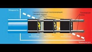 видео Саморегулирующий греющий кабель своими руками: технические характеристики и подключение