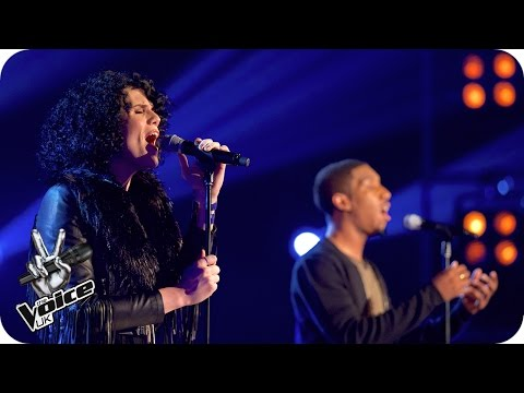 Jordan Gray Vs Theo Llewellyn: Battle Performance - The Voice UK 2016 - BBC One