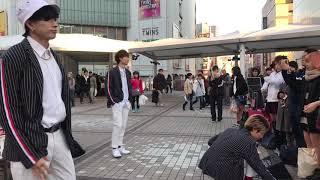 関西出身ダンス&ボーカルグループAIⓇPEN(エアペン)の路上ライブパフォー...