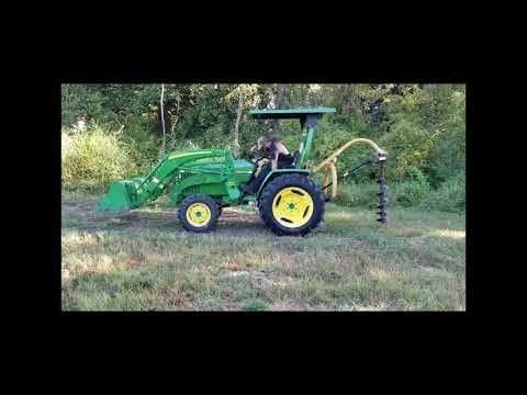 Farm Star Post Hole Digger With Auger