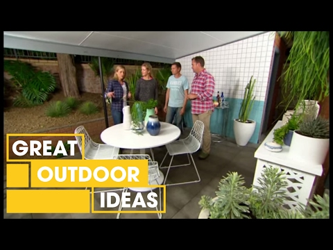 How To Create A Stylish Outdoor Entertainment Area | Outdoor | Great Home Ideas