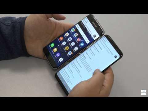Сравнение Samsung Galaxy S8+ и S7 Edge