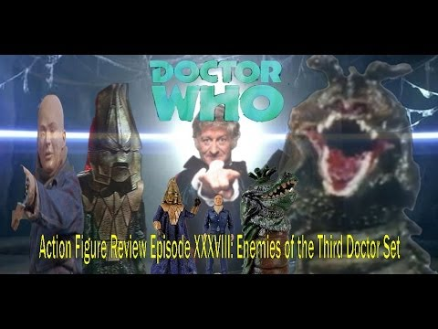 Doctor Who Action figure Review Episode XXXVIII: Enemies of the Third Doctor Set