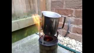 Finished Diy Gasifier Stove Mk2
