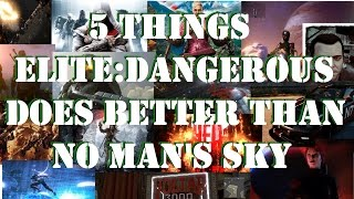 5 Things Elite: Dangerous Does Better Than No Man's Sky