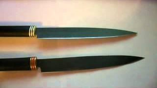 нож из стали Р6М5 (видео + фото процесса изготовления)