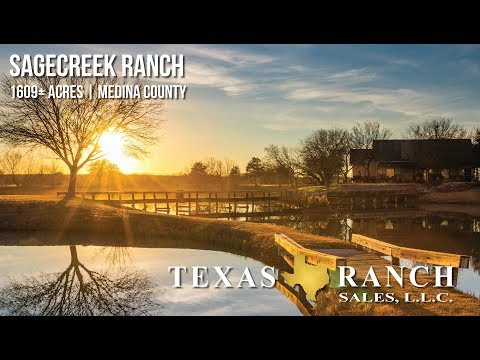 Sagecreek Ranch | 1,609± Acre Medina County Ranch For Sale