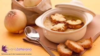 Onion Soup Au Gratin ( Zuppa Di Cipolle Gratinata ) Recipe