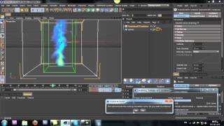 CINEMA 4D - TurbulenceFD - (Fire & Smoke) TUTORIAL -EP1