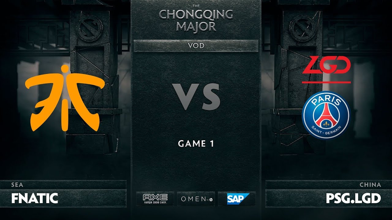[RU] Fnatic vs PSG.LGD, Game 1, The Chongqing Major LB Round 4