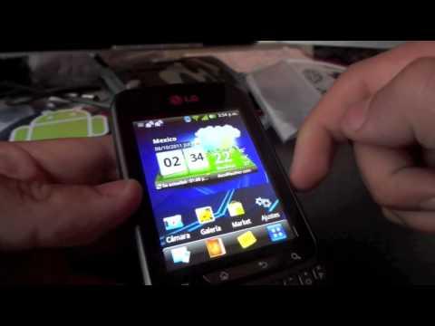 Análisis LG Optimus Pro con Gingerbread 2.3