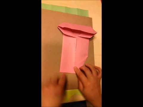 襯衫領帶 摺紙教學 父親節卡片