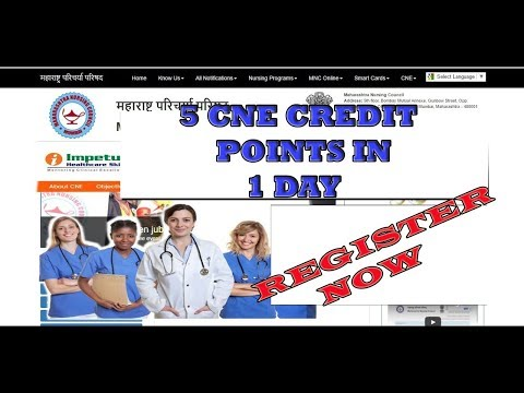 Get 5 CNE Credit Points by Online  MNC CNE IMPETUS