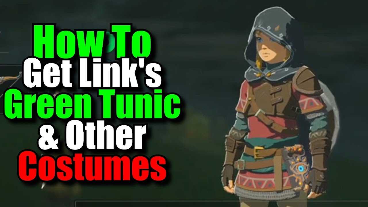 33c03f2829f6 How to Get Link's Green Tunic & Other Costumes - Zelda Breath of the Wild
