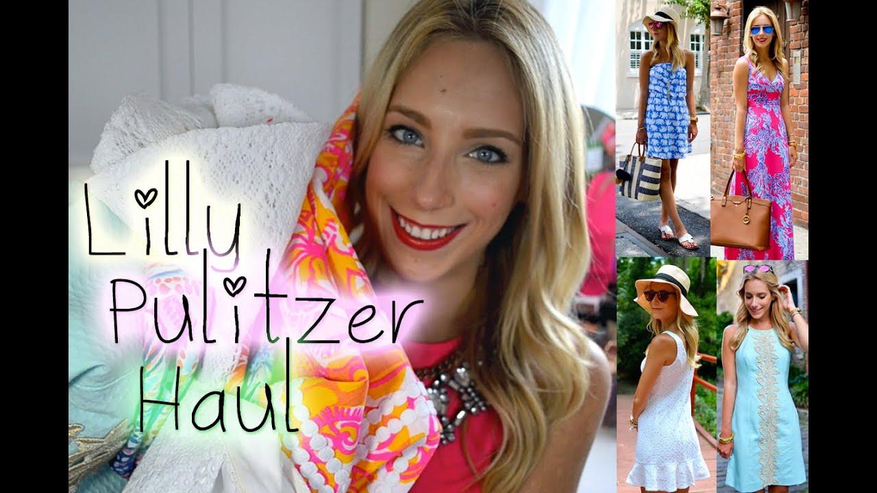 0c7ea871d8e6de HUGE Lilly Pulitzer Haul Summer 2015 - YouTube