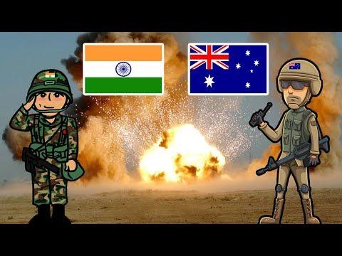 India Vs Australia Military Comparison (2018)
